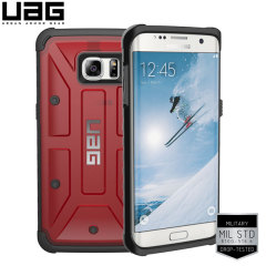 UAG Samsung Galaxy S7 Edge Schutzhülle Magma - Schwarz