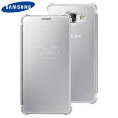 Esta funda Samsung Clear View Oficial es la manera perfecta para mantener su Galaxy A5 2016 protegido mientras se mantiene al día de sus notificaciones gracias a la tapa frontal semi-transparente.