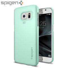 Spigen Thin Fit Samsung Galaxy S7 Deksel - Mint