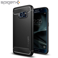 Spigen Rugged Armor Samsung Galaxy S7 Tough Case Hülle in Schwarz