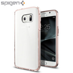 Spigen Ultra Hybrid Samsung Galaxy S7 Case - Crystal Rose