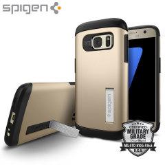 Spigen Slim Armor Case Samsung Galaxy S7 Hülle in Gold