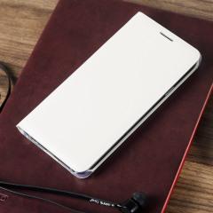 Original Galaxy A3 2016 Tasche Flip Wallet Cover in Weiß