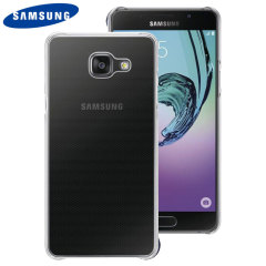 Manufactured from a tough thermoplastic, this grey official Samsung case for the Galaxy A3 2016 is stylish and provides superb protection against scratch and impact damage.