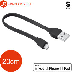 Câble Lightning vers USB Urban Revolt charge & sync. MFi – 20cm