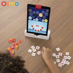 The Osmo Numbers Game Add On is an educational interactive app for children six years or older designed to work with the Osmo iPad Education Gaming System (sold separately).