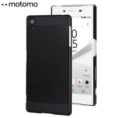 Motomo Ino Metal Sony Xperia Z5 Case Hülle in Schwarz