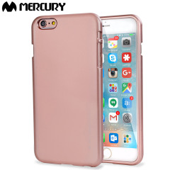 Mercury Goospery iJelly iPhone 6S Plus / 6 Plus Gel Hülle Rosa Gold