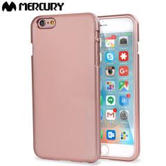 Mercury iJelly iPhone 6S Plus / 6 Plus Gel Case - Metallic Rose Gold