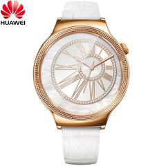 Huawei Jewel Watch für Android und iOS -Weiß Leder Armband