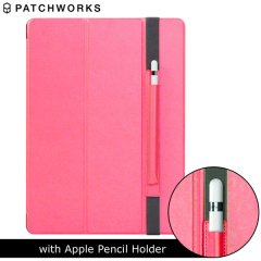 Patchworks PureCover iPad Pro mit Apple Stifthalter in Pink