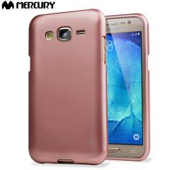 Una funda de gel premium para su Samsung Galaxy J5. La funda Mercury Goospery iJelly está acabada con un brillo que le dará un toque de clase a su dispositivo y una protección duradera.