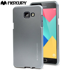 Mercury Metalic Finish Hard case - Samsung Galaxy A7 - Silver