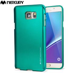Mercury Metallic Finish Hard Case Samsung Galaxy Note 5 - Green