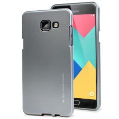 Mercury Goospery iJelly Samsung Galaxy A5 2016 Gel Case - Silver