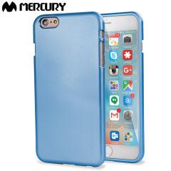 Mercury Goospery iJelly iPhone 6S / 6 Gel Hülle Metallic Blau