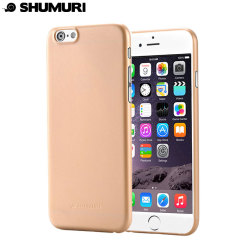 Shumuri The Slim Extra iPhone 6S / 6 Case - Champagne Gold