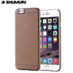 Shumuri The Slim Extra iPhone 6S Plus / 6 Plus Case - Smoke Grey