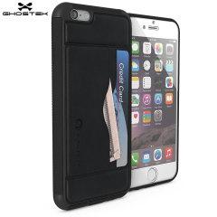 Ghostek Stash iPhone 6S / 6 Genuine Leather Wallet Case - Black