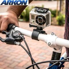 Arkon GoPro & Action Camera Bike / Motorcycle Handlebar Strap Mount
