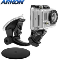 Arkon GoPro & Action Camera Windscreen / Dashboard Mount
