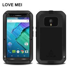 Love Mei Powerful Motorola Moto X Style Protective Case - Black