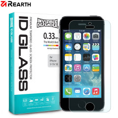 The Rearth ID Glass 9H Tempered Glass Screen Protector for the Apple iPhone SE has been developed to be ultra-responisve, feature HD clarity and is made from slim, scratch resistant glass to protect the SE's precious screen from impacts.