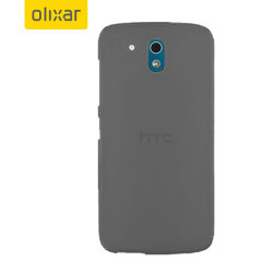 Olixar FlexiShield HTC Desire 526 Gel Case - Smoke Black