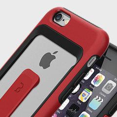 Matchnine iPhone 6S / 6 Match4 Clip Kort Skal - Röd