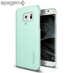 Spigen Thin Fit Samsung Galaxy S7 Edge Deksel - Mint