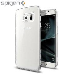 Spigen Liquid Crystal Samsung Galaxy S7 Edge Skal - Klar