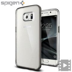 Spigen Neo Hybrid Crystal Samsung Galaxy S7 Edge  - Punametalli