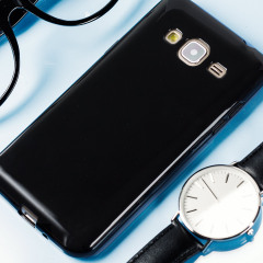 FlexiShield Case Samsung Galaxy J3 2016 Hülle in Smoke Black