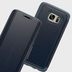 OtterBox Strada Series Samsung Galaxy S7 Edge Leather Case - Blue