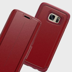 Housse Samsung Galaxy S7 Edge Otterbox Strada Series Cuir – Rouge