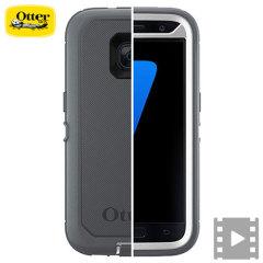 OtterBox Defender Series Samsung Galaxy S7 Case Hülle in Glacier
