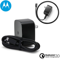 Motorola Turbo US Wall Charger with Qualcomm Quick Charge 2.0