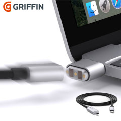 A fantastic alternative for devices without MagSafe connectors, the Griffin BreakSafe magnetic tip automatically breaks away safely so you don't damage your device's port or risk your computer crashing to the floor.