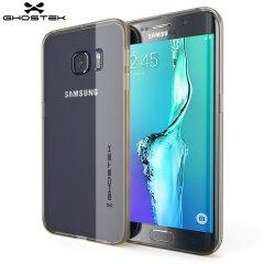 Ghostek Cloak Samsung Galaxy S6 Edge Plus Tough Case - Clear / Gold