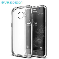 VRS Design Crystal Bumper Samsung Galaxy S7 Edge Case - Blauw