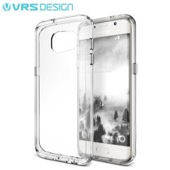 VRS Design Crystal Mixx Samsung Galaxy S7 Edge Case - Crystal Clear