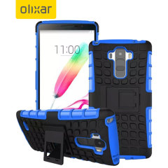 Olixar ArmourDillo LG G Stylo Tough Case - Blue