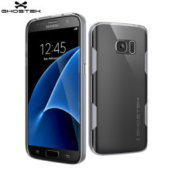 Ghostek Cloak Samsung Galaxy S7 Tough Case Hülle in Klar / Silber