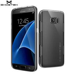 Ghostek Cloak Samsung Galaxy S7 Tough Case Hülle in Klar / Schwarz