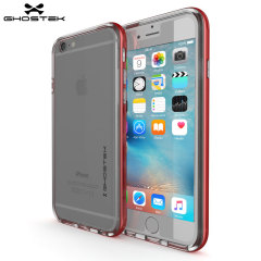 Ghostek Cloak iPhone 6S / 6 Tough Case Hülle in Klar / Rot