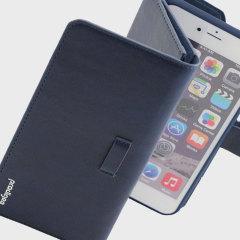 Prodigee Legacee iPhone 6S Plus / 6 Plus ECO-läderfodral & skal - Blå