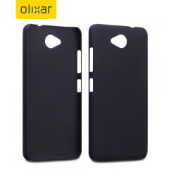Custom moulded for the Microsoft Lumia 650, this light rubberised hybrid black ultra thin ToughGuard case provides slim fitting, durability and protection against damage.