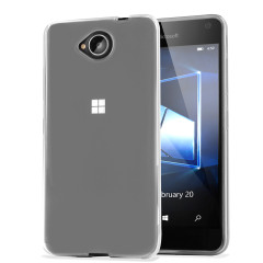 FlexiShield Microsoft Lumia 650 Gel Deksel – Klar