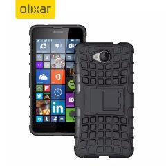 Encase ArmourDillo Lumia 650 Hülle in Schwarz