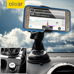 Essential items you need for your smartphone during a car journey all within the Olixar DriveTime In-Car Pack. Featuring a robust one-handed phone car mount and car charger with an additional USB port for your Samsung Galaxy J5 2015.